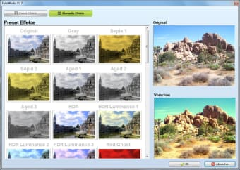 Bildbearbeitungsprogramm XL