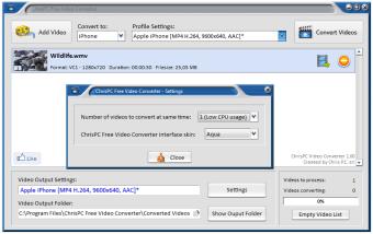 ChrisPC Free Video Converter