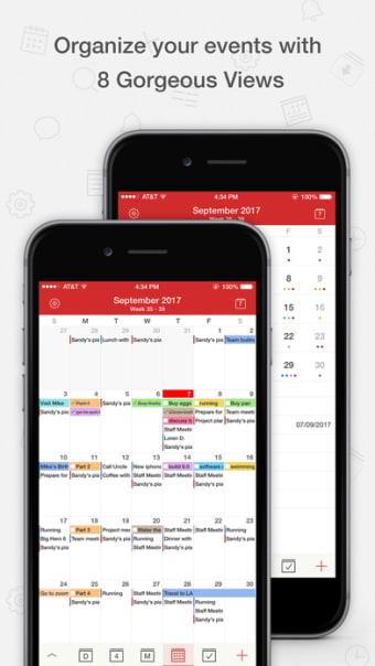 Calendar App: Tasks  Calendar