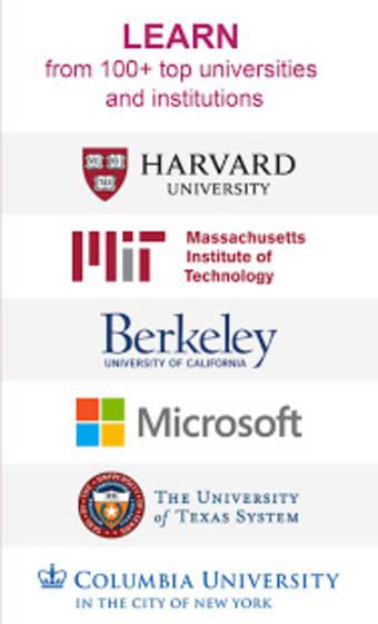 edX: Online Courses by Harvard MIT Berkeley IBM