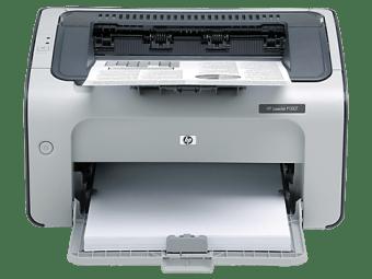 HP LaserJet P1007 Printer drivers