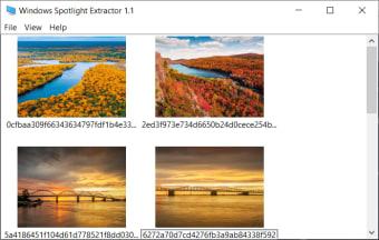 Windows Spotlight Extractor