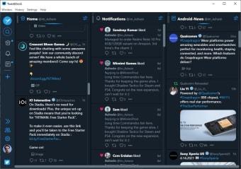 Atomic TweetDeck