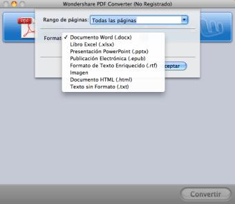 PDF Converter Pro para Mac