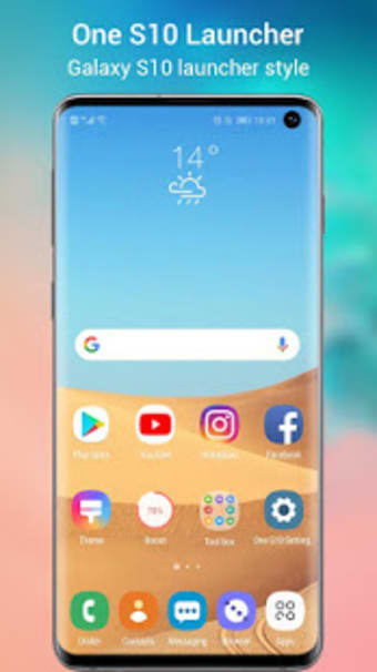 One S10 Launcher - Galaxy S10 Launcher style