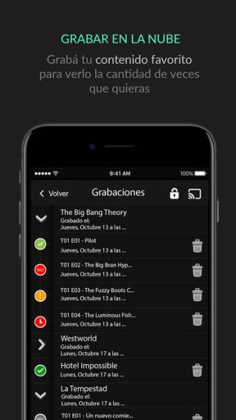 Cablevisión Flow para iPhone