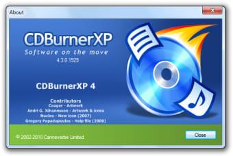 CDBurnerXP Pro 64 Bit