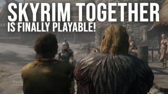 Skyrim Together mod for Skyrim