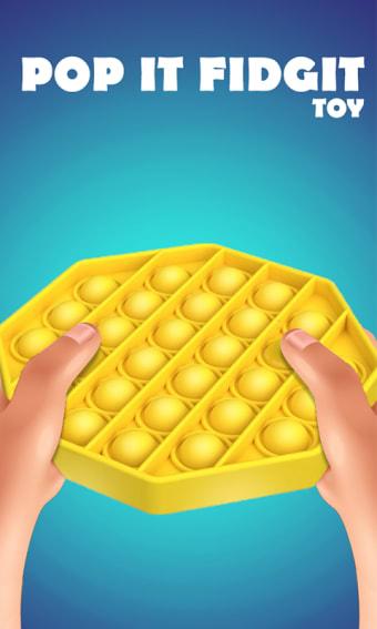 Pop It Sensory Fidget cube toys 3d Anxiety Relief