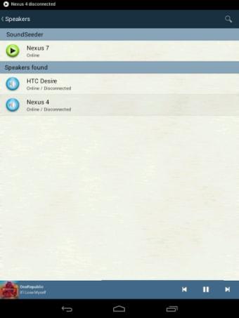 SoundSeeder Music Player