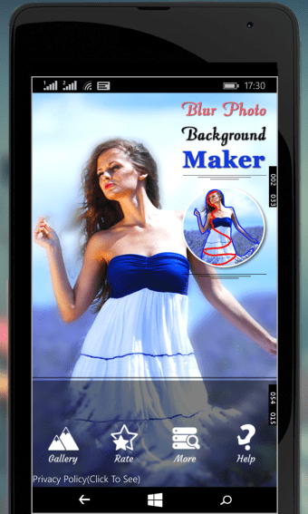 Blur Photo Background Maker