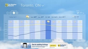 The Weather Network for Windows 10