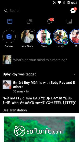 Dark Facebook