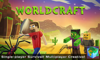 WorldCraft: 3D Build  Block Craft