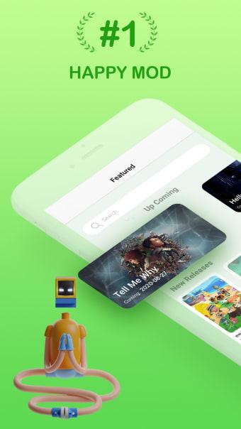 Happymod - Games Tracker Apps