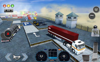 3D Truck Parking Simulator 2019: Real Truck Games