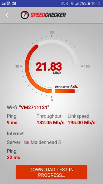 Internet Speed Test 3G,4G,Wifi
