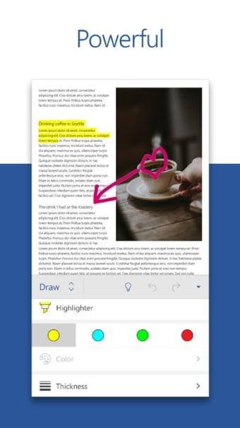 Microsoft Word: Write Edit  Share Docs on the Go