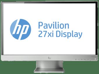 HP Pavilion 27xi 27-inch LED Backlit Monitor drivers