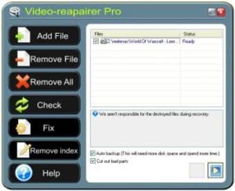 Video-Repairer