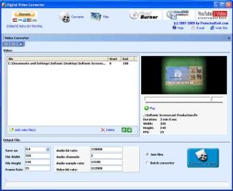 Digital Video Converter