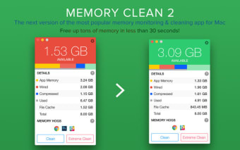 Memory Clean 2 - Monitor and Free Up Memory