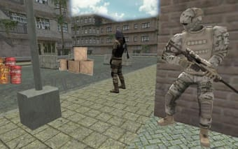 TPS Cover Shooter 3D: US Army Counter Target Game