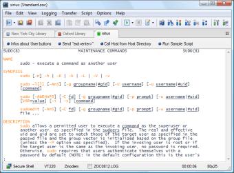 ZOC Terminal SSH and Telnet Client