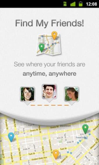 Finde meine Freunde