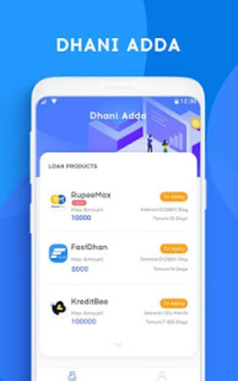 Dhani Adda - now easy loan at your finger tips