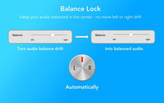 Balance Lock - Fix Audio Drift