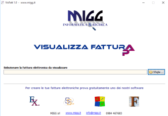 Visualizza FatturaPA