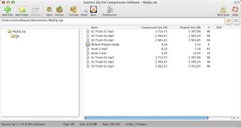 Express Zip Mac Compression Software