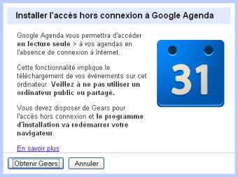 Google Agenda
