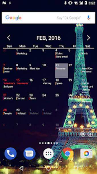 AA Calendar  Memo  Anniversary