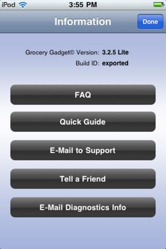 Grocery Gadget