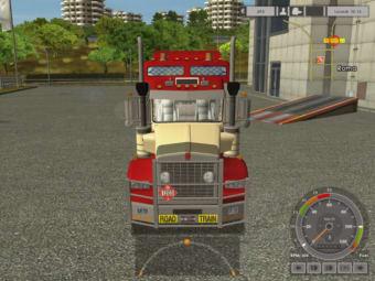 Euro Truck Simulator Kenworth road train T800 8x6