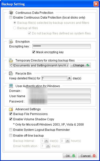 Home PC Backup
