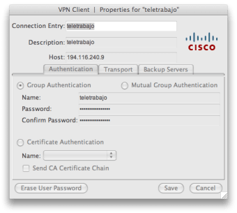 Cisco VPN Client
