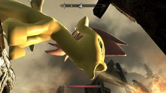 Skyrim Pony Dragon Mod