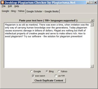 Desktop Plagiarism Checker