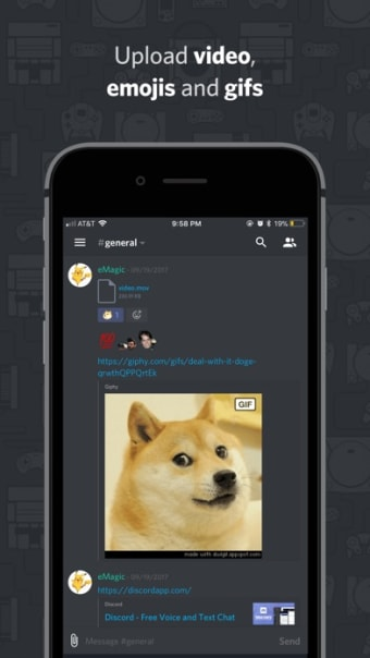Discord - Talk Chat Hang Out