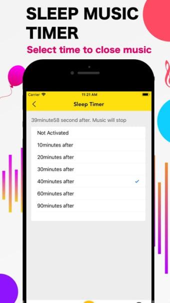 Music FIDI Box - Sleep Timer