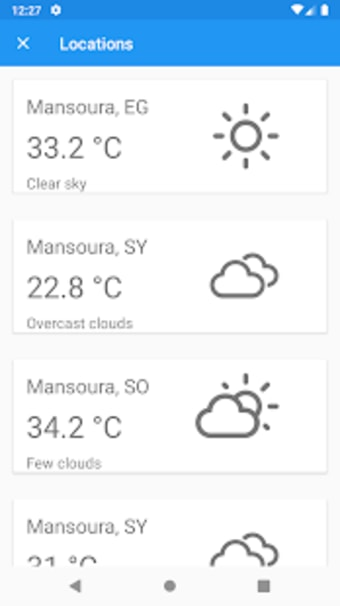 Egypt Weather - Daily report