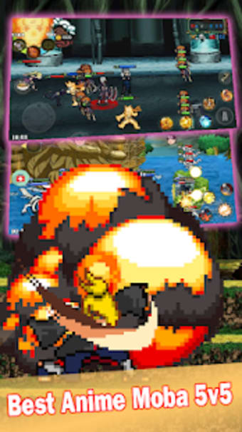 League of Ninja: Moba Battle