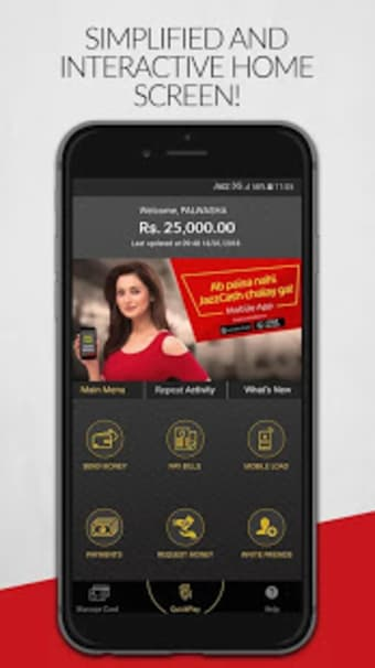 JazzCash - Money Transfer Mobile Load  Payments