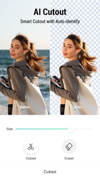 PickU - Cutout  Photo Editor
