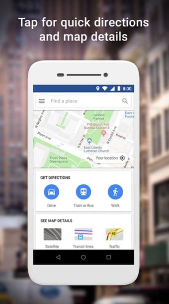 Google Maps Go - Directions Traffic  Transit