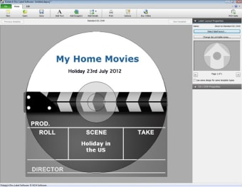 Disketch Professional CD Label Software Plus