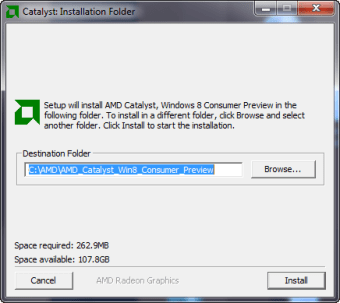 AMD Catalyst Driver for Windows 10